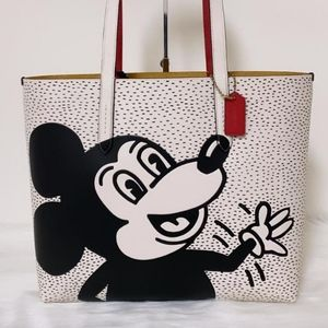 Coach Disney Mickey Mouse X Keith Haring Highline